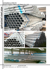 DN 32 new welded/galvanized black steel pipe used in construction with competitive price