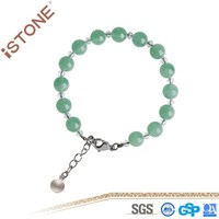 A Class Green Aventurine Stone Bracelet For Women