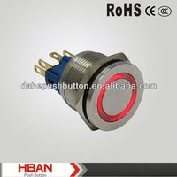 CE ROHS with lamp push button switch