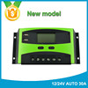 Newest 12v 30a smart rohs solar charge controller