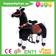 Funny ride toys!!!Hot selling hand carved wooden horses,antique wood carving horses,ride mechanical toy