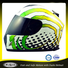 Green Motorcycle Accessories full face wholesale motorcycle helmets