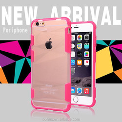 2015 new product 2 in 1 sport mobile phone case for iphone 6