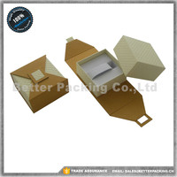 Hot Sell Yiwu Jewelry Paper Watch Boxes C ring Hook Inside With 2 Sides Open Style JBP190WC
