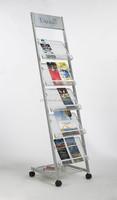 5 tier paper brochure holders a5