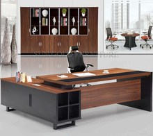 Big size CEO high quality executive with vice cabinet serie office desk(SZ-OD318)