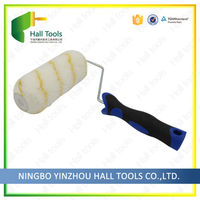 Blue And Black Tpr Roller Brush Stone Texture Wall Paint