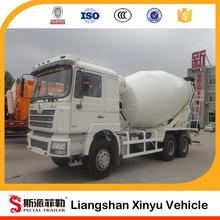 3 cubic concrete mixer truck for sale
