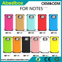 2015 Durable Slim Armor Mobile Phone Case For Samsung Galaxy Note 5