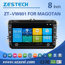 car dvd player for VW Polo/Magotan/Golf 6/TOUGUAN dvd gps player built in gps bluetooth tv