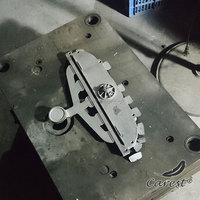Metal alloy die casting injection mold for cars parts factory
