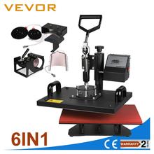 VEVOR 6 in1 Tshirt Combo Heat Press Machine