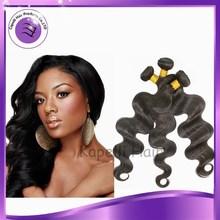 2014 oferta cabello indio ondulado extensión de cabello humano alta calidad 100% virgen y sin procesar