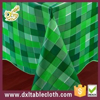 Modern design pvc tablecloth printed series pvc tablecloth plastic table cover