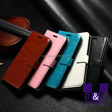 smarter cellphone Flip Case Cover,mobile phone wallet stand PU leather flip cover case for HTC desire eye