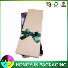 Own design custom paper gift box manufacturer