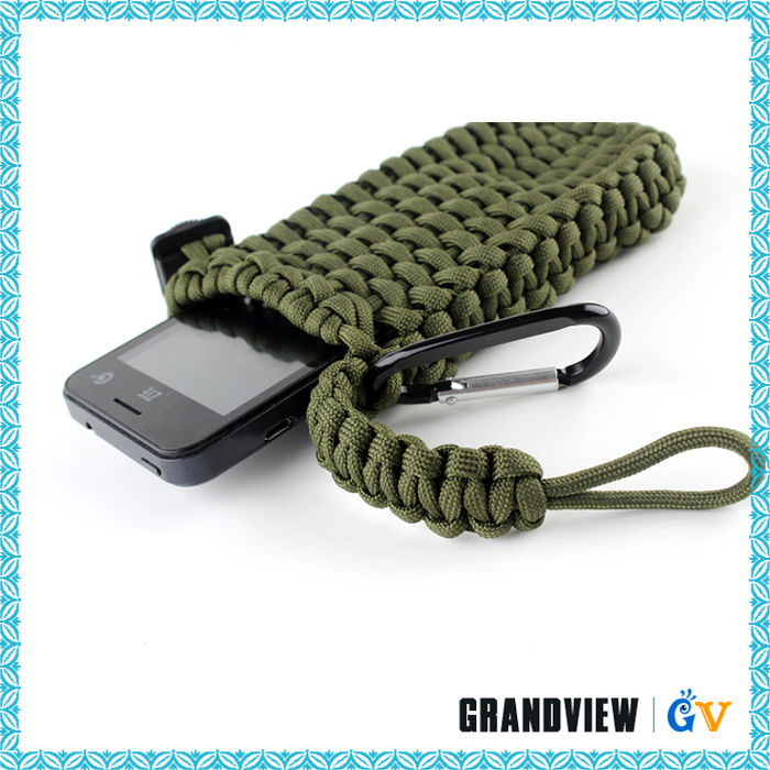 ... smart paracord cell phone pouch,new design handmade mobile phone cases
