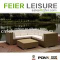 alta qualidade sofá de canto com mesa