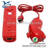 usb joystick for wii joystick controller for wii 2 in 1 motion plus for wii controller accessories