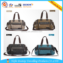 2015 Men's New Promotional Satchel Tote Canvas Waterproof Cross-body Bag