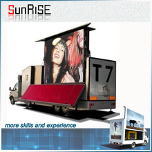 2015 hot full color stage truck led display P6mm P8mm P10mm advertising with good value