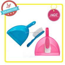 SY3115 Cute Plastic spade set pet brush t able brush & dustpan sets Duster set,