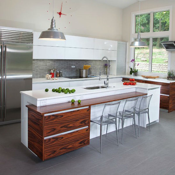 Gabinetes de cocina de dise o de moda hechos en china para for Estilos de gabinetes de cocina