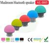Hot Selling Creativity Mushroom Design vatop Bluetooth stereo Wireless Mini silicone sucker speaker