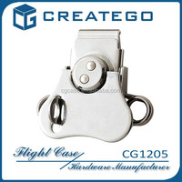 Carry case hardware metal butterfly lock
