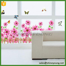 None-toxic artistic vivid 3d wall stickers home decor