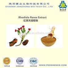 GMP factory supply rhodiola rosea powder extract Salidroside 3%