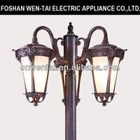 Cheap standing outdoor garden lamp
