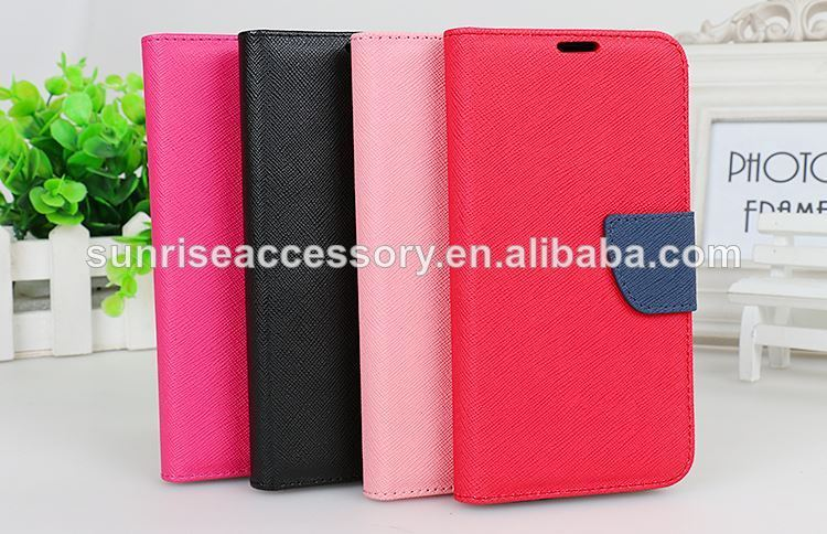 Wholesale New leather flip case for samsung s5,flip leather case for samsung s5,for samsung s5 flip leaterh case