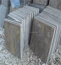 chinese slate flexible stone veneer panel stacked slate