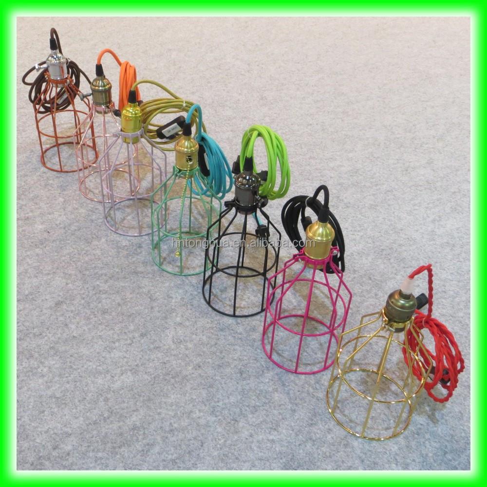 Bulb Socket/lampholder Fabric Wire Cloth Cord Wire Vintage Edison ...