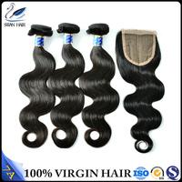 SWAN For Factory Direct-Sale brazilian remy hair extension bundles