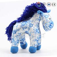 custom large animal stuffed horse plush toy