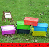 Wedding gift thin plastic storage containers