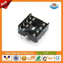 8P 8Pins 2.54mm DIP IC PCB Board Sockets Adapter Solder