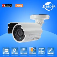 200w Analog Camera Bullet 1920*1080p AHD Camera CCTV Price List