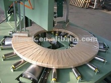 Effective motorcycle tyre horizontal wrapping machine,application with various tires