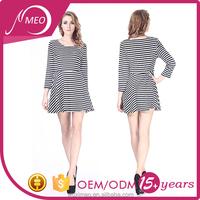 High quality bodycon dresses knee length,stripes woman 2015 summer stripe dress