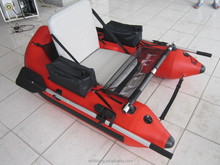 small easy to carry inflatable fishing belly Boat