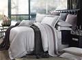 2015 luxo China fábrica 60% cotton40 % poliéster Jacquard jogo de cama de algodão capa de edredão com rendas