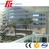 hdpe balcony high quality fall protection safety net