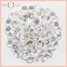 Round Natural Cut -White Topaz in Semi precious Gemstone