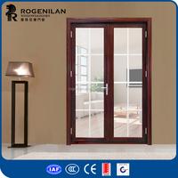 ROGENILAN 75 series metal glass luxury double venting entry doors