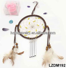 hanging feather dream catcher for wall decor LZDM192