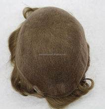 Swiss lace hairpiece Human Hair customized order toupee for men