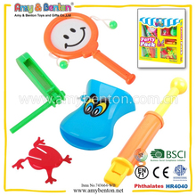 2015 promotional plastic party toys sets party favors gifts toys bags